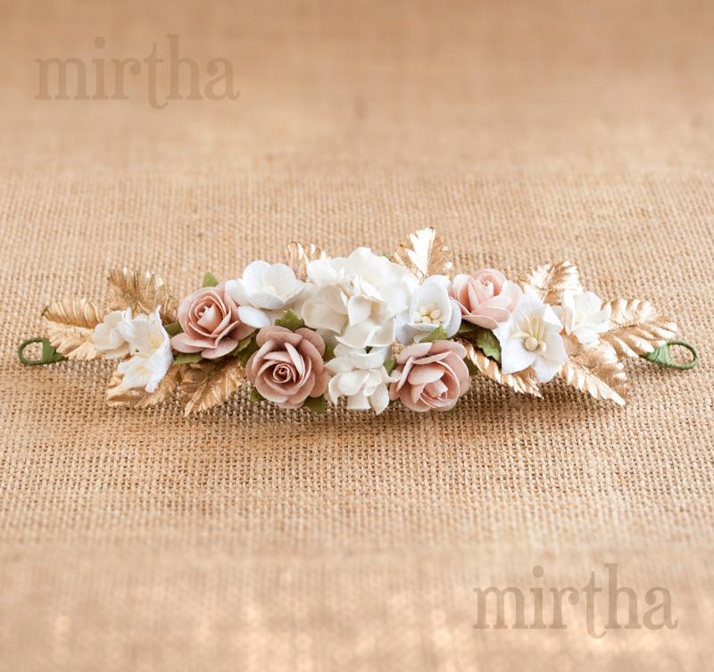 Tocados De Flores Tocado Nara