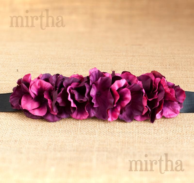 Cinturones de flores hechos a mano - Mirthashop 2300f4bc6a64