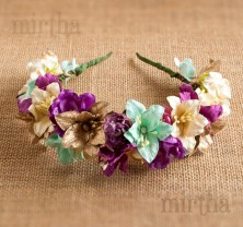 Diademas de flores - Diadema Tropical