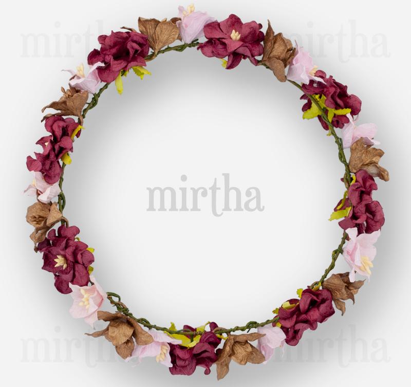 Coronas de flores corona romantic - Coronas de flore ...
