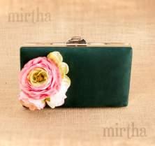 Bolso verde oscuro