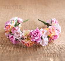 Diadema Pink Velvet