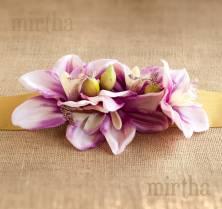 Cinturón Orquídea